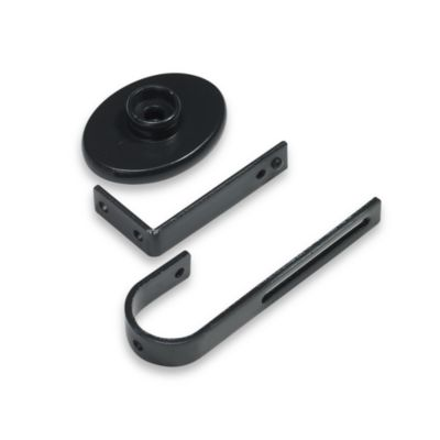 Cambria® Premier Complete® Inside Mount Bracket in Satin Black (Set of 2)