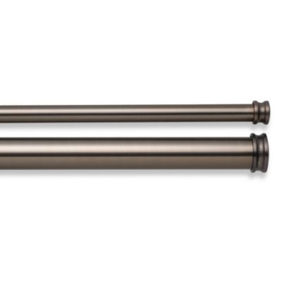 Cambria® Premier Complete® Double Drapery Rod in Oil Rubbed Bronze