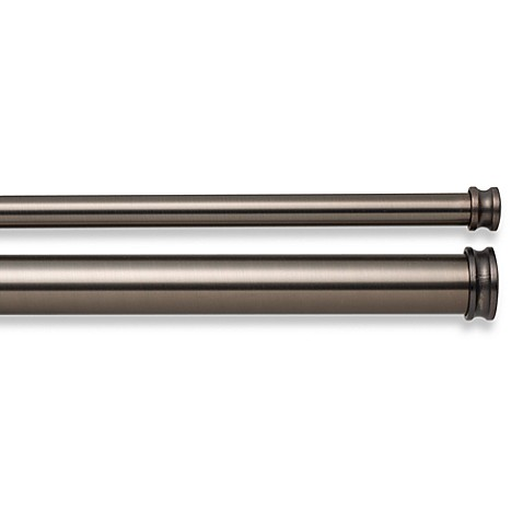 Cambria® Premier Complete Double Drapery Rod in Oil Rubbed Bronze