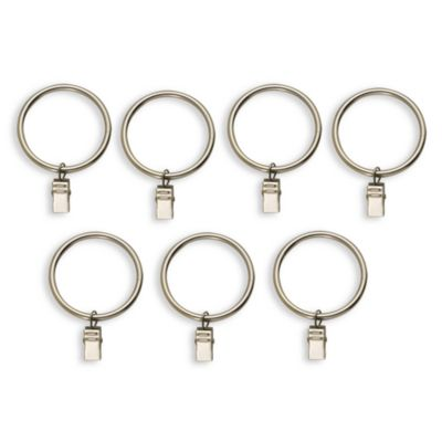 Cambria Complete Brass 2-Inch Rings (Set of 7)