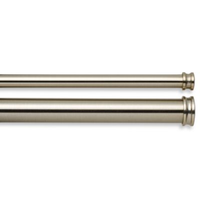 Cambria® Complete Brass 88-Inch - 144-Inch Double Rod