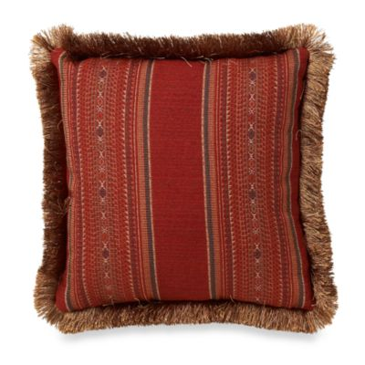 Santa Fe Square Toss Pillow
