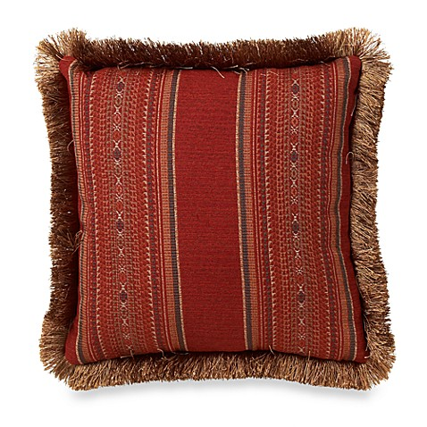 Santa Fe Square Throw Pillow