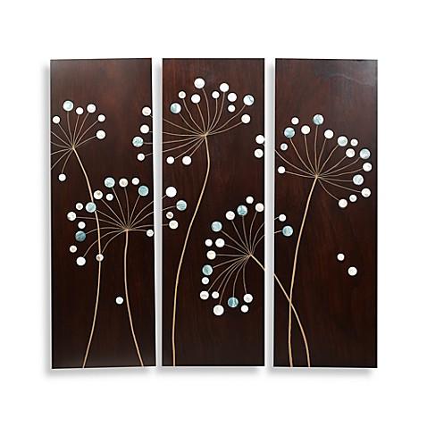 Dandelion Wood Plaques Bed Bath Amp Beyond