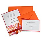 Laura Ashley® Pink and Orange Invitation Kit (Set of 50)