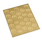 Gartner Studios Gold Hearts Wedding Seals (Set of 2)