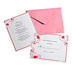Gartner Studios Two Tone Pink Invitation Kit (Set of 2)