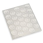 Gartner Studios Platinum Hearts Wedding Seals (Set of 2)