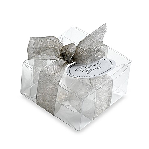 Gartner Studios 50-Count Clear Favor Box
