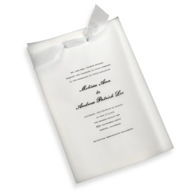 Gartner Studios 50-Count Invite Accessory Kit in White