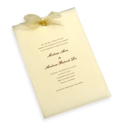 Gartner Studios 50-Count Invite Accessory Kit in Ivory
