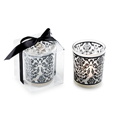 Kate Aspen® Damask Traditions Tealight Holder Wedding Favors (Set of 4)