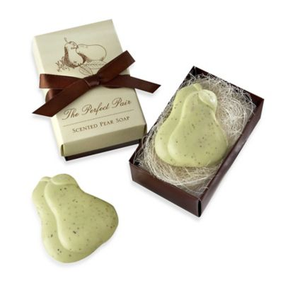 Kate Aspen® Perfect Pair Pear Shaped Soaps Wedding Favor