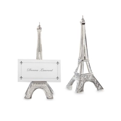 Kate Aspen® Eiffel Tower Place Card Holder Wedding Favor (Set of 4)