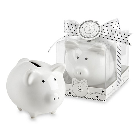 Kate Aspen® Piggy Bank Baby Favor