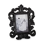 Kate Aspen® Black Baroque Place Card and Photo Holder Wedding Favor