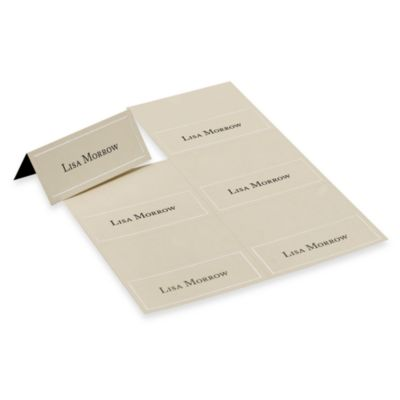 Gartner Studios Ivory Pearl Placecards (Set of 4)