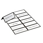 Gartner Studios 48-Count Black and White Placecards