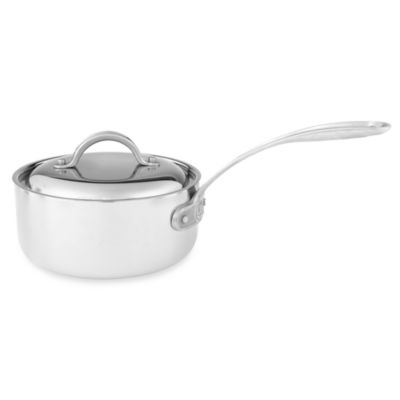Culinary Institute of America® 7-Ply Clad Copper™ 1 1/2-Quart Covered Saucepan