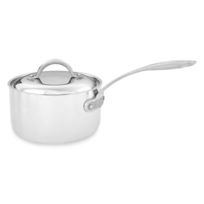 Culinary Institute of America® 7-Ply Clad Copper™ 2 1/2-Quart Covered Saucepan