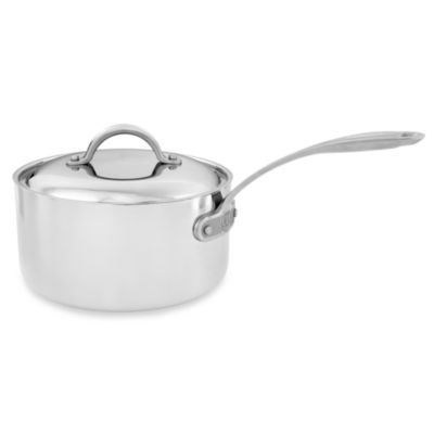 Culinary Institute of America® 7-Ply Clad Copper™ 3 1/2-Quart Covered Saucepan