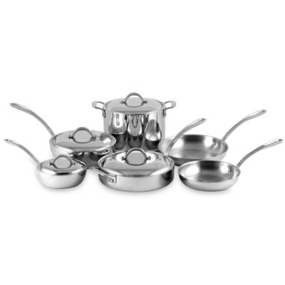 Culinary Institute of America® 7-Ply Clad Copper™ 10-Piece Cookware Set
