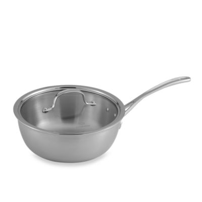 Calphalon® Tri-Ply Stainless Steel 3-Quart Chef's Pan