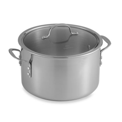 Calphalon® Tri-Ply Stainless Steel 8-Quart Stockpot with Lid