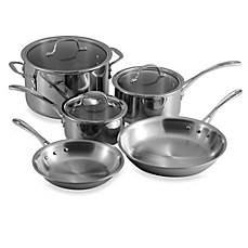 Calphalon Tri-Ply Stainless Steel 8-Piece Cookware Set and Open Stock