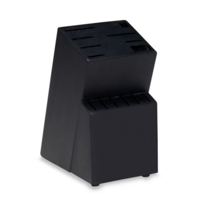 Cuisine de France® 14-Slot Black Finish Wood Block