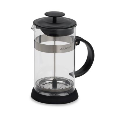 Mr. Coffee® 8-Cup Coffee Press in Black