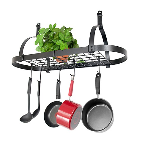 Enclume® Rack It Up Oval Pot Rack