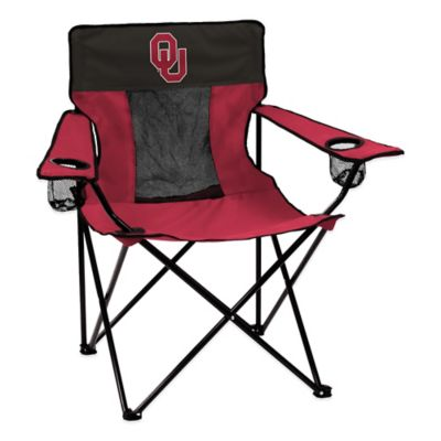 Oklahoma University Collegiate Elite Folding Chair