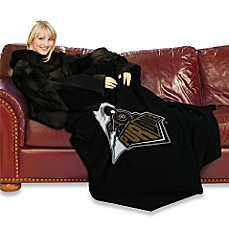 Purdue University Comfy Throw™ with Sleeves