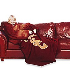 University of Southern California Comfy Throw™ with Sleeves