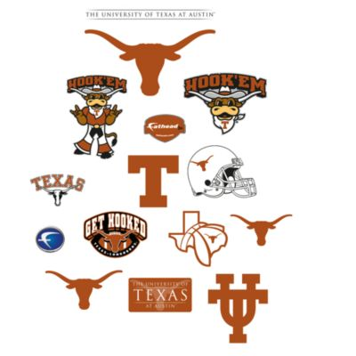 University of Texas Logo Junior Fatheads
