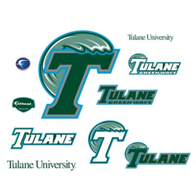Tulane University Logo Junior Fatheads