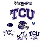 Texas Christian University Logo Junior Fatheads