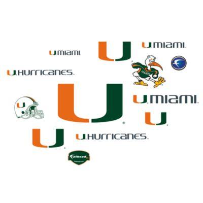 University of Miami Logo Junior Fatheads