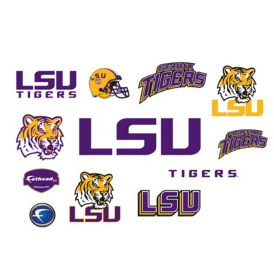 Louisiana State University Logo Junior Fatheads