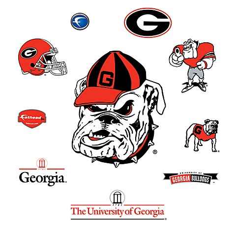 University of Georgia Logo Junior Fatheads