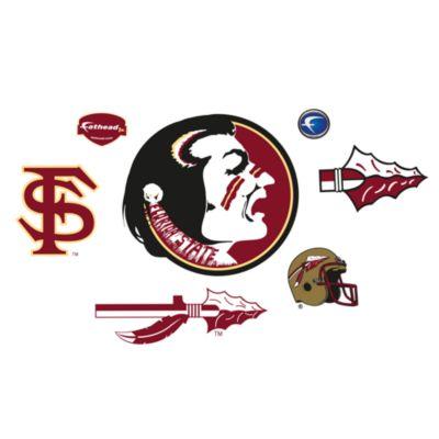 Florida State University Logo Junior Fatheads