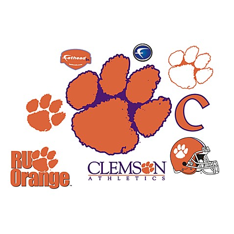 Clemson University Logo Junior Fatheads