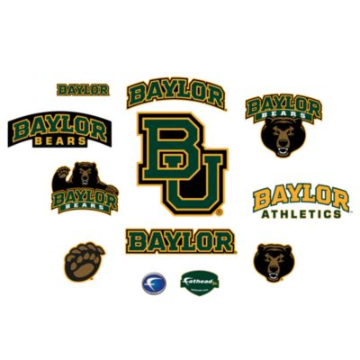 Baylor University Logo Junior Fatheads