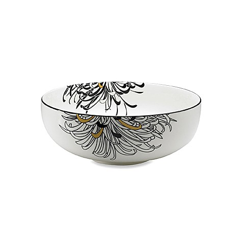 Denby Monsoon Chrysanthemum 3 1/2-Pint Serving Bowl