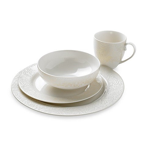 Denby Monsoon Lucille 4-Piece Place Setting in Gold