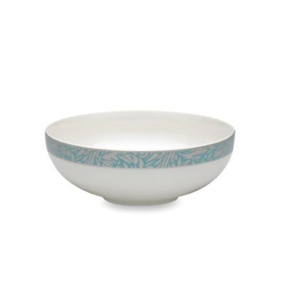 Denby Monsoon Lucille Teal 6 1/4-Inch Soup/Cereal Bowl