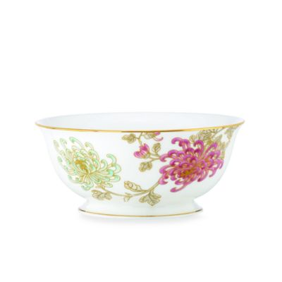 Marchesa by Lenox® Painted Camellia 8 1/2-Inch Serving Bowl