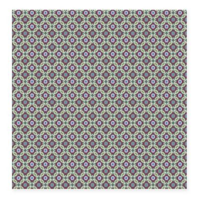 Audra Floral Wallpaper in Purple
