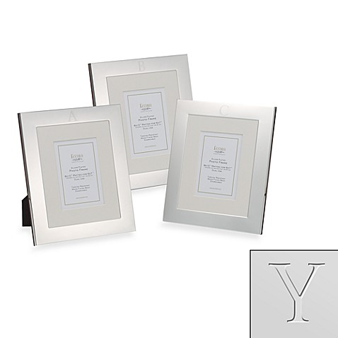 Eccolo™ Silverplated Monogrammed Letter